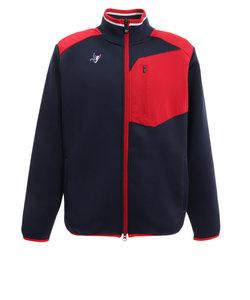 クランク(CLUNK)ゴルフウエア ニット メンズ 秋冬 ダンボールジャケット CL5GTN01 NVY