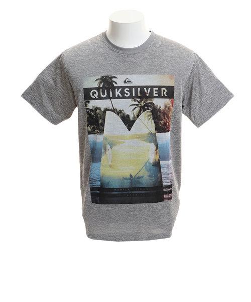 クイックシルバー(Quiksilver)ラッシュガード メンズ ラッシュTシャツ QLY182001HTR