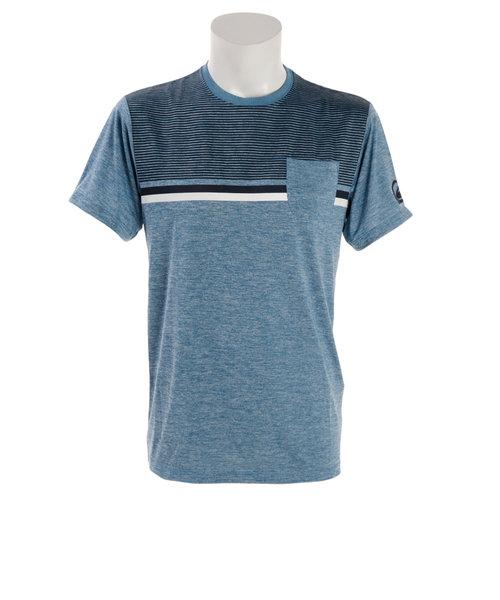 クイックシルバー(Quiksilver)ラッシュガード メンズ COUNTRY VIBES 半袖シャツ QLY182006HTB