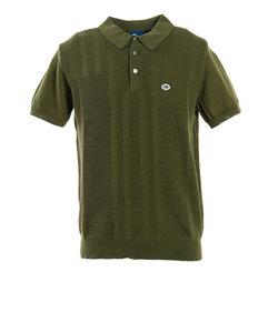フィドラ(FIDRA)ゴルフ ポロシャツ メンズ ニットポロシャツ FD5HTG60 KHK