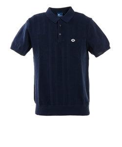 フィドラ(FIDRA)ゴルフ ポロシャツ メンズ ニットポロシャツ FD5HTG60 NVY