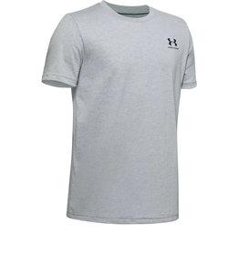 アンダーアーマー(UNDER ARMOUR)ボーイズ スポーツスタイル レフトチェスト 半袖 Tシャツ 1351876 MRH/BLK AT オンライン価格