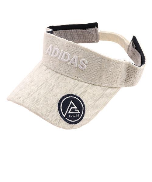 アディダス(adidas)ケーブルニットバイザー HFG32-CL6662W