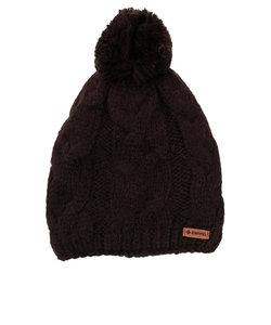 スウィベル(Swivel)スキー スノーボード ニット帽 レディース ソリッド ビーニー 331SW10DW1131 BLK