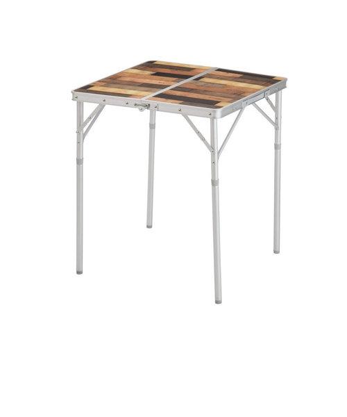 Whole Earthテーブル 折りたたみ アウトドア キャンプ おうち時間 ソロキャンプ COLLATAGE TABLE 60/2 WE23DB46 MUL…