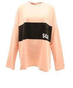 スウィベル(Swivel)Tシャツ レディース 長袖 PANEL 870SW0CD3264 PNK 母の日