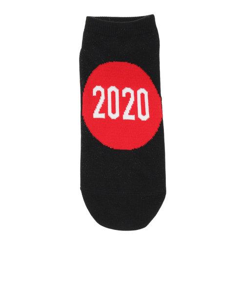 ノーブランド(NO BRAND)ショートソックス 2020 894M0OKJPN01BLK