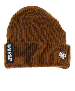 ベスプ(VESP)スキー スノーボード ニット帽 メンズ リブニットビーニー ニットキャップ VPMB1002CA
