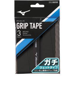 ミズノ(MIZUNO)テニスグリップテープ ガチグリップ ウエットタイプ 3本入り 63JYA00109