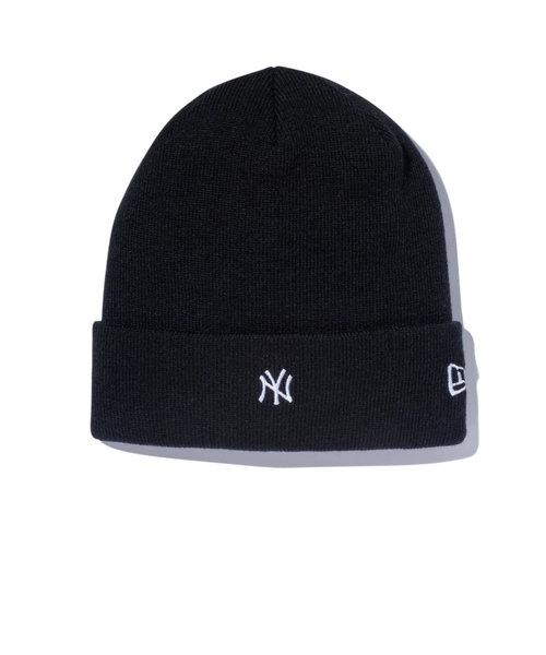 ニューエラ(NEW ERA)スキー スノーボード ニット帽 メンズ ベーシック ニューヨーク・ヤンキース ニットキャップ 12108805-FW20