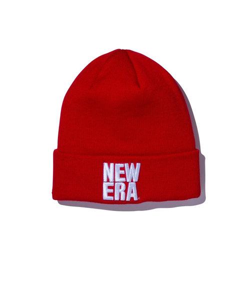 ニューエラ(NEW ERA)スキー スノーボード ニット帽 メンズ ベーシック スクエア カフ ニットキャップ 12540523