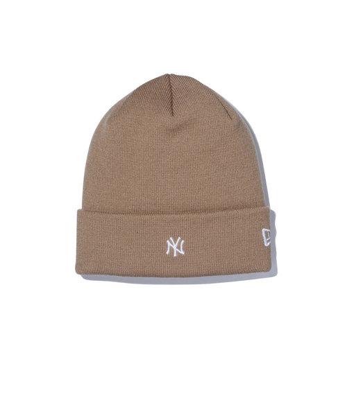 ニューエラ(NEW ERA)スキー スノーボード ニット帽 メンズ ベーシック ニューヨーク・ヤンキース ニットキャップ 12540537