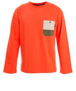 パワー・トゥ・ザ・ピープル(POWER TO THE PEOPLE)ムービングポケットTシャツ 0312123-23ORG