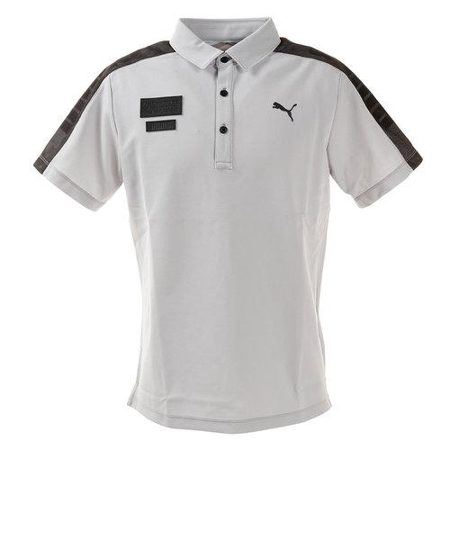 プーマ(PUMA)ゴルフ ポロシャツ メンズ ゴルフ ケージド SS ポロシャツ 半袖 930012-03