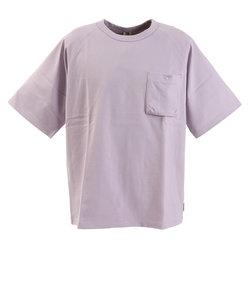 パワー・トゥ・ザ・ピープル(POWER TO THE PEOPLE)トルファンオーガニックポケットTシャツ 0512110-75 LAV