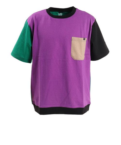 パワー・トゥ・ザ・ピープル(POWER TO THE PEOPLE)MOVING半袖トレーナーTシャツ 0512126-81 B