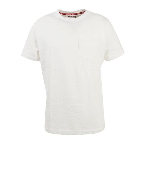 ボンファイア(Bonfire)Tシャツ ARMY S 半袖 50BNF0SCD2084 WHT
