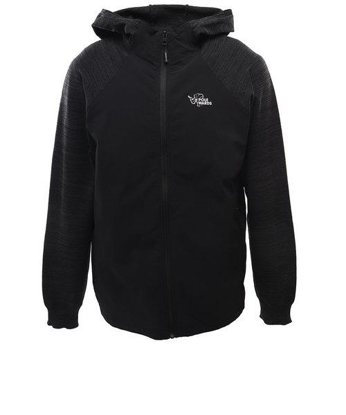 POLEWARDSHybrid Sweater PW2HJJ03 BLK