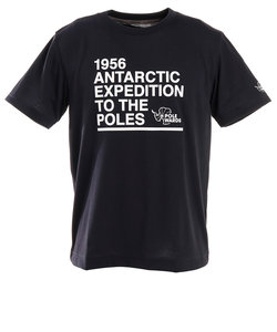 POLEWARDSANTARCTIC EXPEDITION 半袖Tシャツ PW2HJA23 NVY