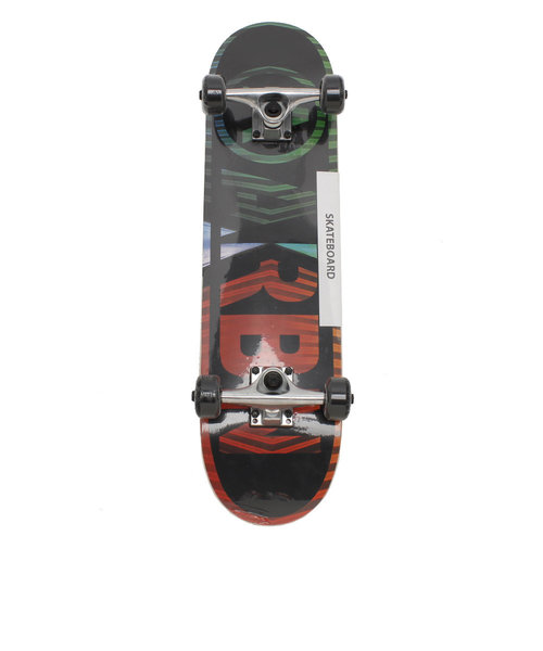 エアボーン(ARBN)スケートボード キッズ コンプリートセット スケボー JR COMPLEAT AB89SK1088J BLK 7インチ