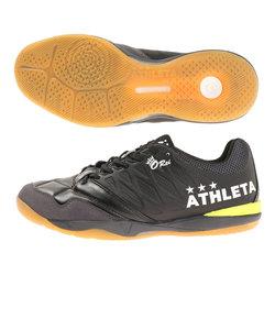 アスレタ(ATHLETA)サッカーインドアトレーニングシューズ O-Rei Futsal T007 11013 BLK サッカーシューズ トレシュー