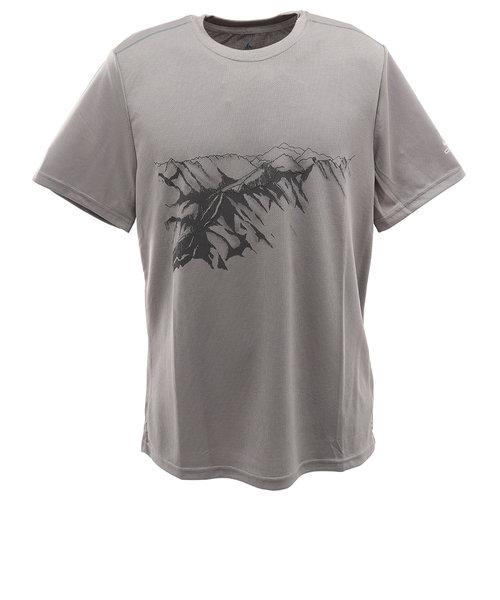 オドロ(ODLO)tシャツ 半袖 エフドライ プリントシャツ 550652-10655