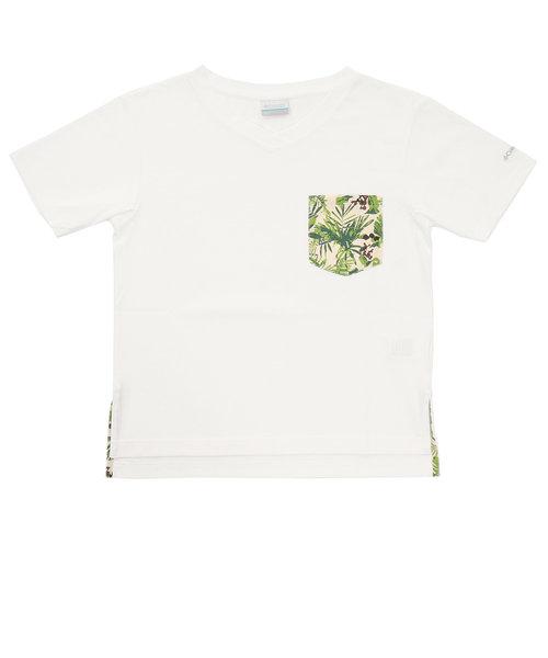 コロンビア(Columbia)tシャツ 半袖 DEMOCRAT HIKE ショートスリーブ PL0138 103 白 ホワイト 胸ポケット おしゃれ ボタニカ…
