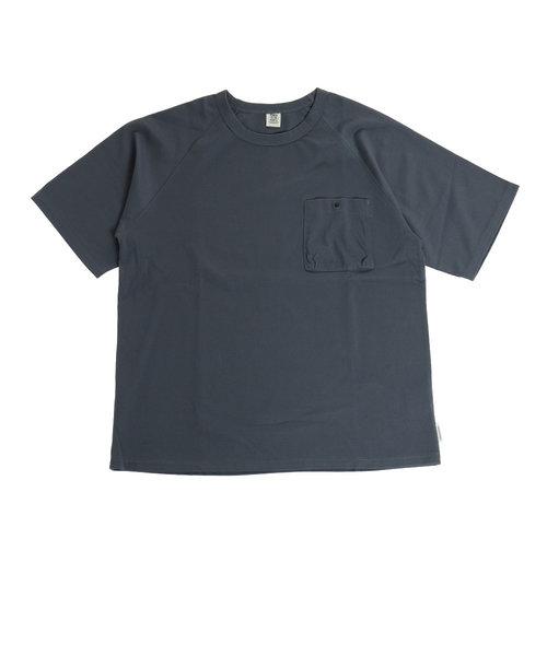 パワー・トゥ・ザ・ピープル(POWER TO THE PEOPLE)トルファンオーガニックポケットTシャツ 0512110-02 CHA