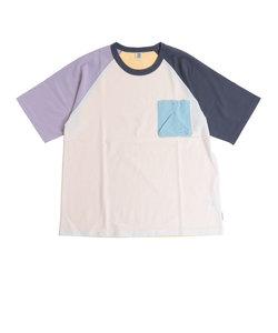 パワー・トゥ・ザ・ピープル(POWER TO THE PEOPLE)トルファンオーガニックポケットTシャツ 0512110-80 A