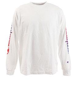 チャンピオン-ヘリテイジ(CHAMPION-HERITAGE)Tシャツ メンズ 長袖 ODC W LOGO C8-RS401 010