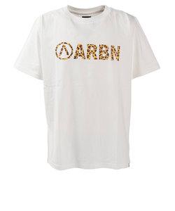 エアボーン(ARBN)tシャツ   半袖  プリントTシャツ SSAIRB-O001WHT/BEG オンライン価格