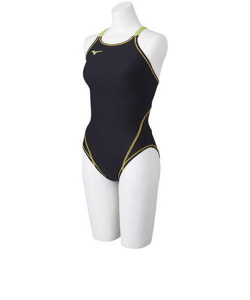 ミズノ(MIZUNO)競泳練習用ミディアムカット 水着 N2MA846073