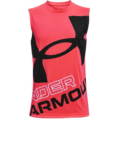アンダーアーマー(UNDER ARMOUR)ボーイズ テック エクスプロード ロゴ タンクトップ 1361822 628