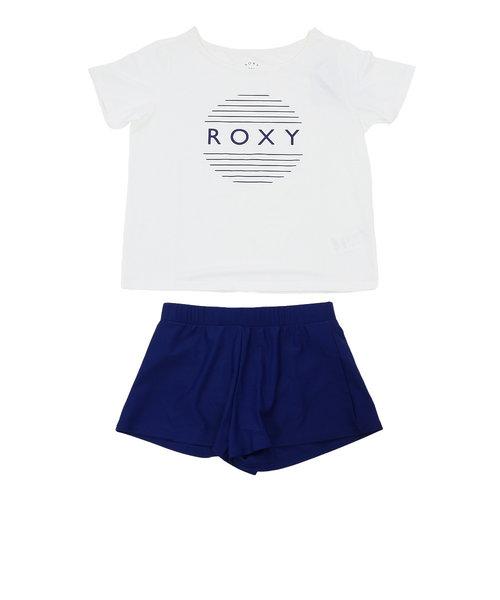 ロキシー(ROXY)ラッシュTシャツ付き 水着 3点セット 20SPRSW201008NVY