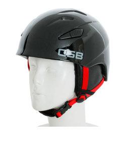 2016-2017 JUNIOR HELMET キッズ ジュニア スノー ヘルメット 335CS7ZF1236 ブラック×レッド