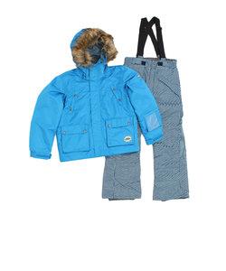 ジュニア スーツ RES78005 644 BL スキーウェア 上下セット