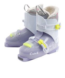 ピュアコンシャス(PURECONCIOUS)スキーブーツ ジュニア CUTE2 310L9NS5515 LVD