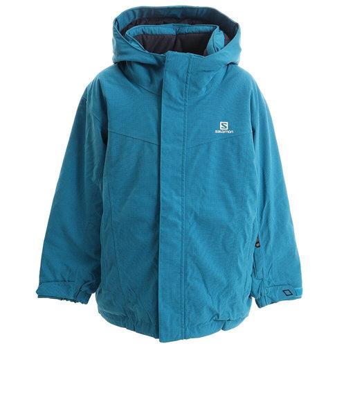 サロモン(SALOMON)スキーウェア キッズ 20 C12455 JP JUNIOR RENTAL ジャケット 雪遊び ウェア