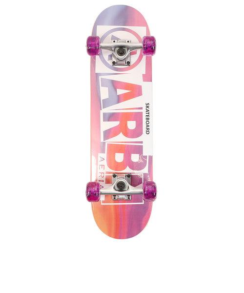 エアボーン(ARBN)スケートボード コンプリートセット スケボー ARBN COMPLEAT AB09SK1298J PPL ジュニア 7インチ