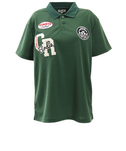 クアルトユナイテッド(CUARTO UNITED)ゴルフウエア レディース 刺繍 半袖ポロシャツ M3131-Unisex-GRE