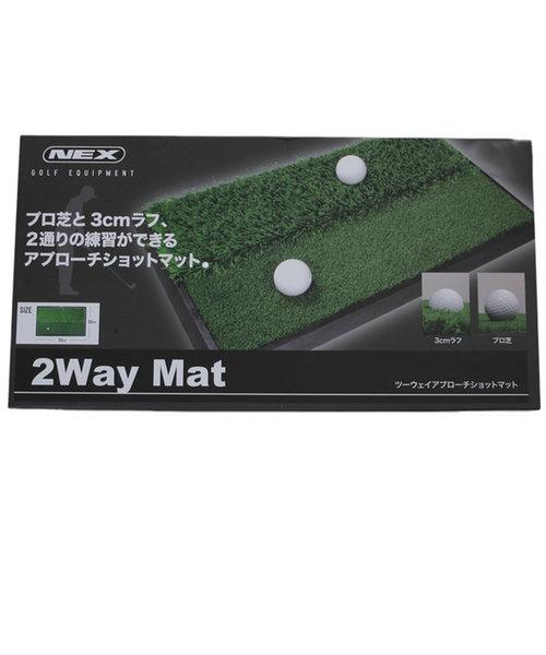 2WAY練習マット (ゴルフ練習器具) 430N5CM0001