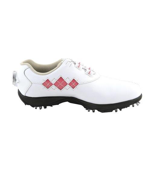 ゴルフシューズ 【オンラインストア価格】 ゴルフシューズ 16 Eコンフォートボア WT/PI 98531W (レディース)