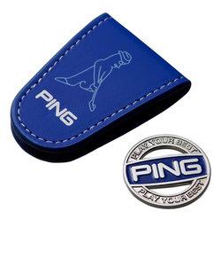 ピン(PING)ポケットマーカー AC-U197 BLU 34873