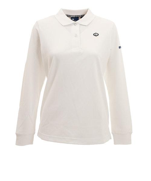 フィドラ(FIDRA)ゴルフ ポロシャツ レディース ベーシックポロシャツ FI38UG05 WHT