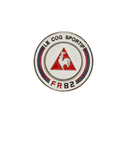 ルコック スポルティフ(Lecoq Sportif)ダブルコインマーカー QQBPJX52-WH00