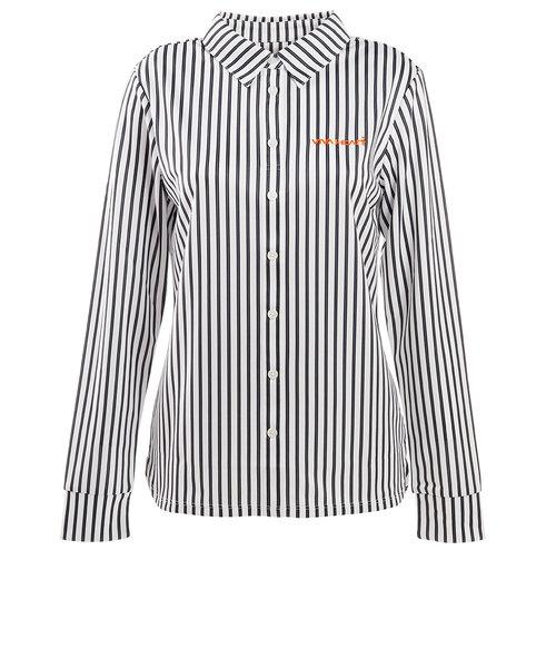 ビバハート(VIVA HEART)ゴルフウェア ポロシャツ レディース マルチストライプシャツ 012-22211-019