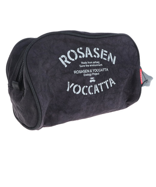 ROSASENyoccattaラウンドポーチ 046-82302-019