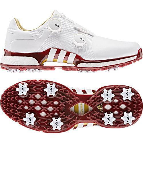 アディダス(adidas)ツアー360XTボア ゴルフシューズ ツアー360 XT ツイン ボア-F35402W/RD