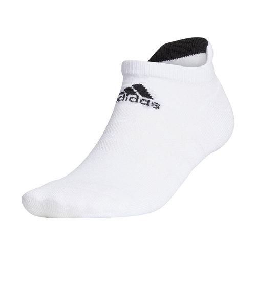 アディダス(adidas)ゴルフ ベーシック ソックス ローカット GUX56-FM3125W/BK