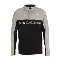 ニューバランス(new balance)ゴルフウエア ポロシャツ メンズ 秋冬 長袖 カラーシャツ 012-0269001-020